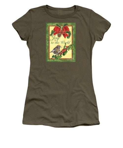 Xmas Around The World 2 Women's T-Shirt (Junior Cut) by Debbie DeWitt
