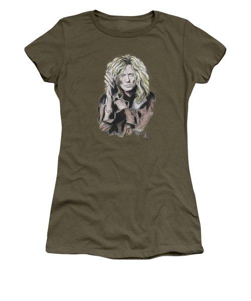 David Coverdale Women's T-Shirt (Junior Cut) by Melanie D