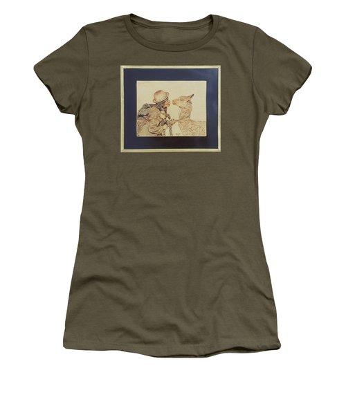 A Door To The Andean Heart Women's T-Shirt (Junior Cut) by Pamela Puch Santillan