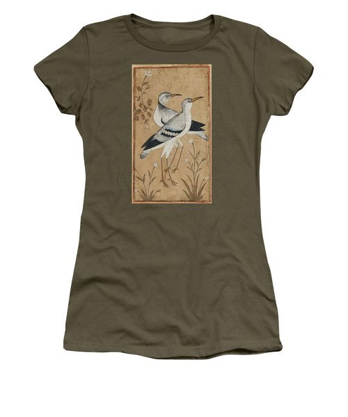 A Pair Of Lapwings Women's T-Shirt (Junior Cut) by MotionAge Designs