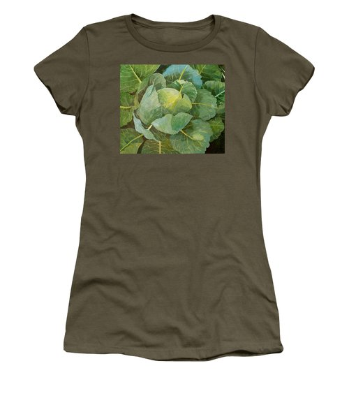 Cabbage Women's T-Shirt (Junior Cut) by Jennifer Abbot