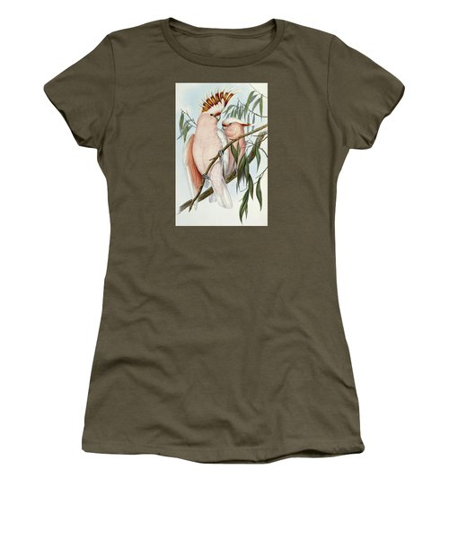 Cacatua Leadbeateri Women's T-Shirt (Junior Cut) by John Gould