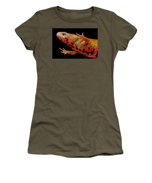 Chuxiong Fire Belly Newt Women's T-Shirt (Junior Cut) by Dant� Fenolio