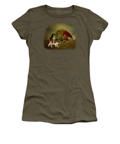 Global Initiative Women's T-Shirt (Junior Cut) by Terry Fleckney