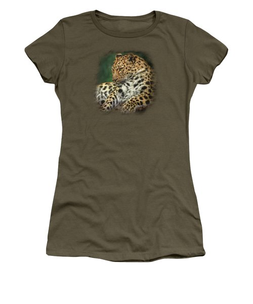 I'm Watching Women's T-Shirt (Junior Cut) by Sandy Oman