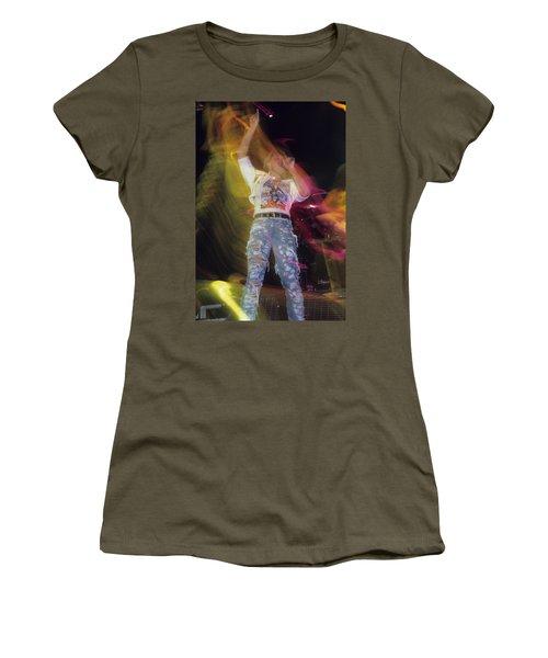 Joe Elliott Women's T-Shirt (Junior Cut) by Rich Fuscia