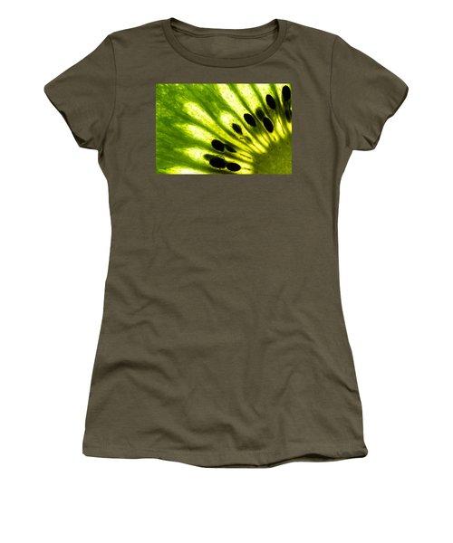 Kiwi Women's T-Shirt (Junior Cut) by Gert Lavsen