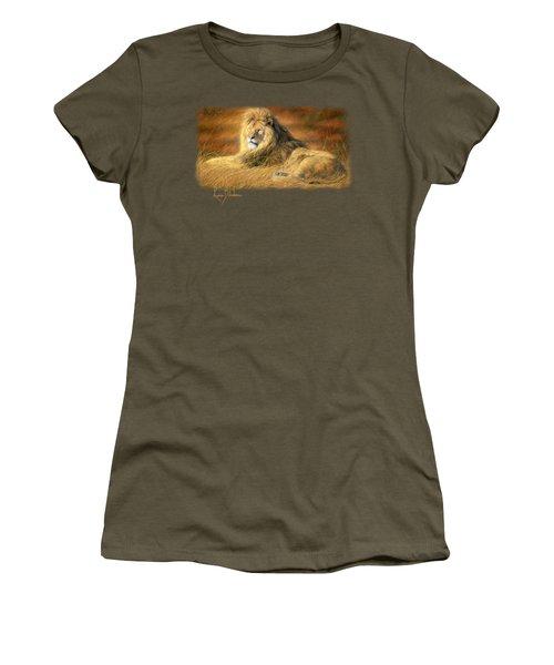 Majestic Women's T-Shirt (Junior Cut) by Lucie Bilodeau