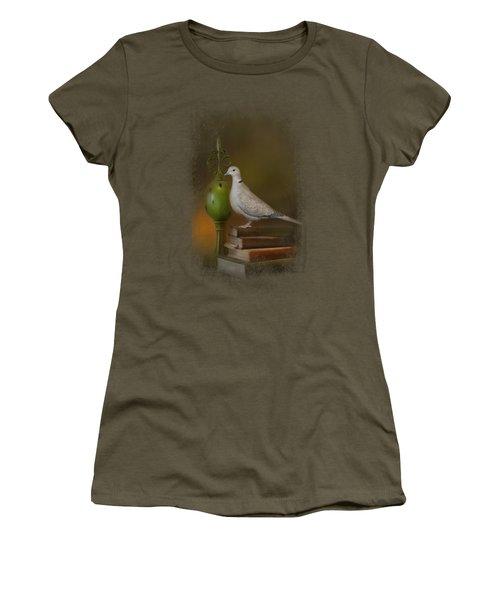 Read Me A Story Women's T-Shirt (Junior Cut) by Jai Johnson
