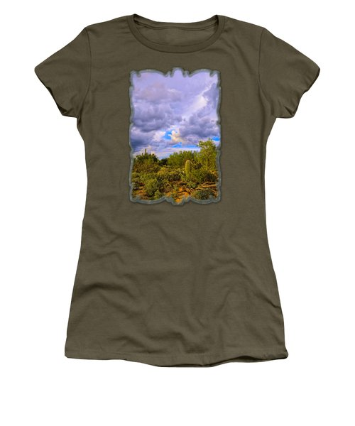 Sonoran Desert V13 Women's T-Shirt (Junior Cut) by Mark Myhaver