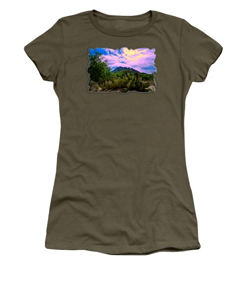 Sonoran Morning H54 Women's T-Shirt (Junior Cut) by Mark Myhaver