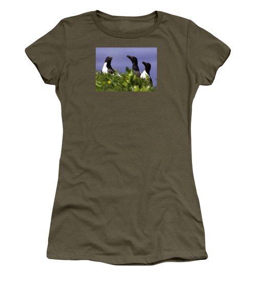 Trio Women's T-Shirt (Junior Cut) by Marie Elise Mathieu