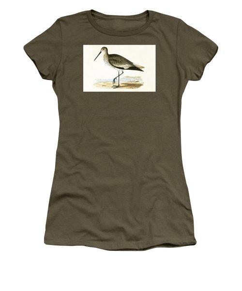 Willet Women's T-Shirt (Junior Cut) by English School