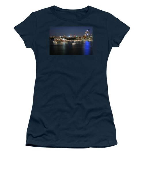 Sydney Harbor At Circular Quay Women's T-Shirt (Junior Cut) by Ellen Henneke