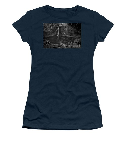 Hayden Swirls  Women's T-Shirt (Junior Cut) by James Dean