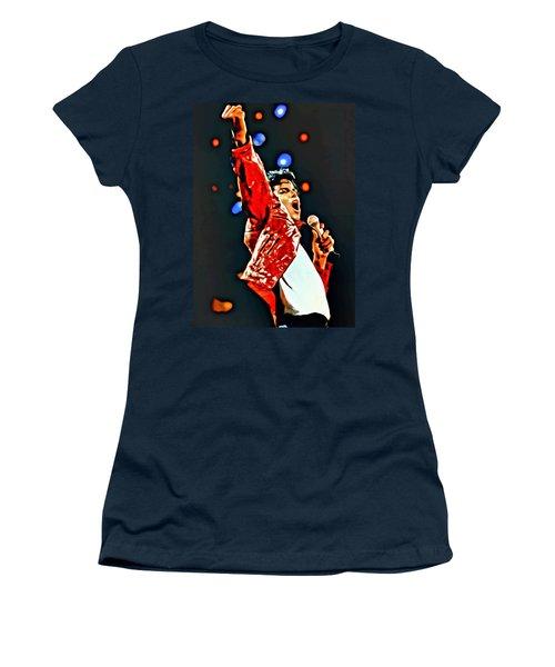 Michael Women's T-Shirt (Junior Cut) by Florian Rodarte