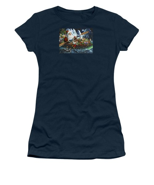 Northern Passage Women's T-Shirt (Junior Cut) by Lynn Bywaters