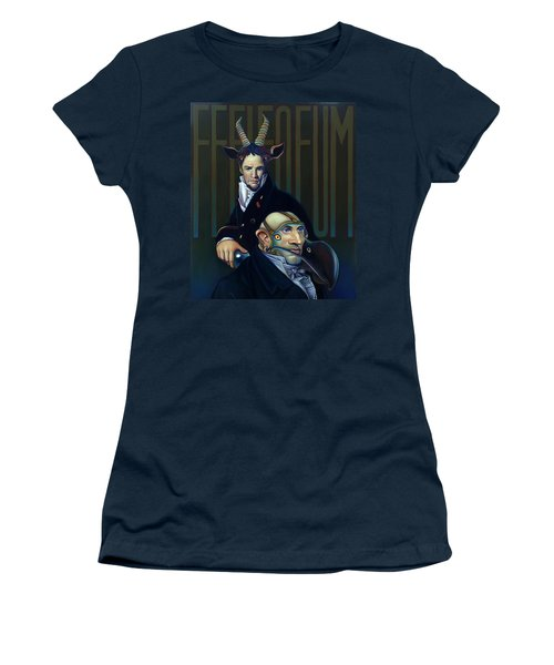 Yak Andrew Bienstjalk Women's T-Shirt (Junior Cut) by Patrick Anthony Pierson
