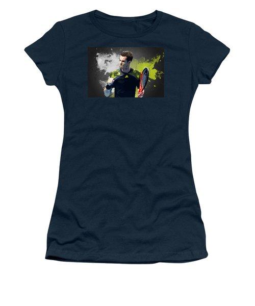 Andy Murray Women's T-Shirt (Junior Cut) by Semih Yurdabak