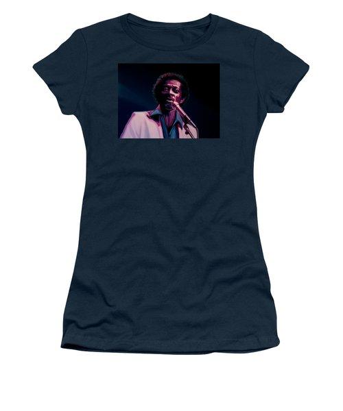 Chuck Berry Women's T-Shirt (Junior Cut) by Paul Meijering