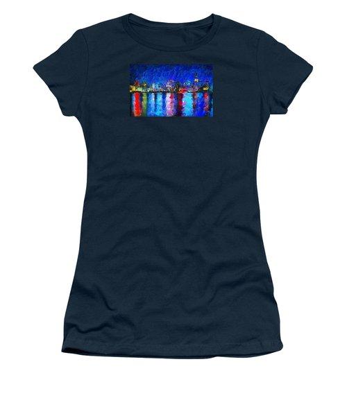 City Limits Tokyo Women's T-Shirt (Junior Cut) by Sir Josef Social Critic - ART