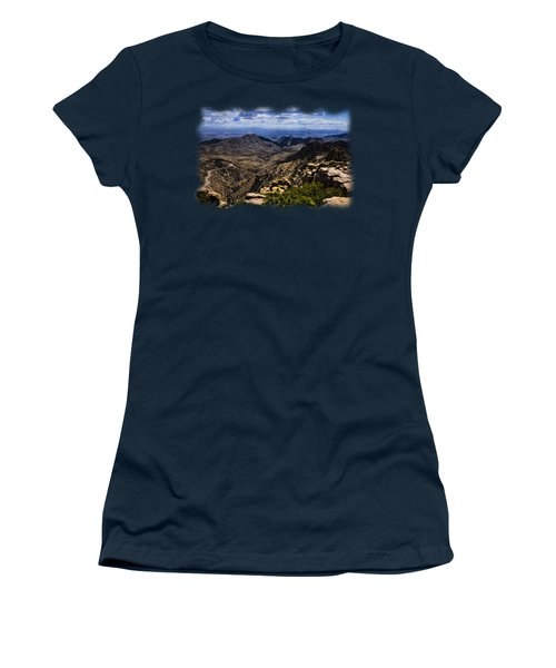 Windy Point No.11 Women's T-Shirt (Junior Cut) by Mark Myhaver