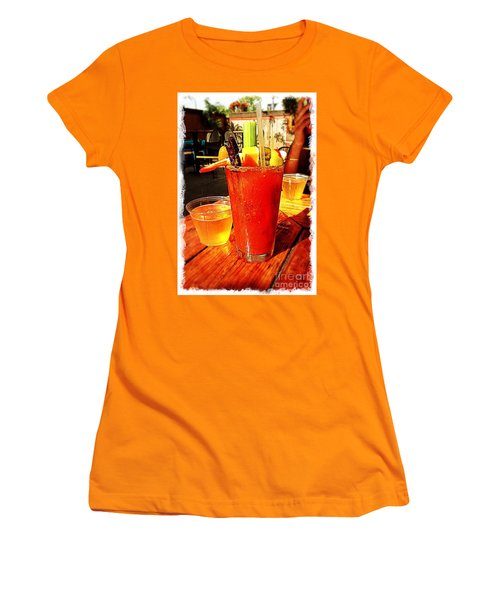 Morning Bloody Women's T-Shirt (Junior Cut) by Perry Webster