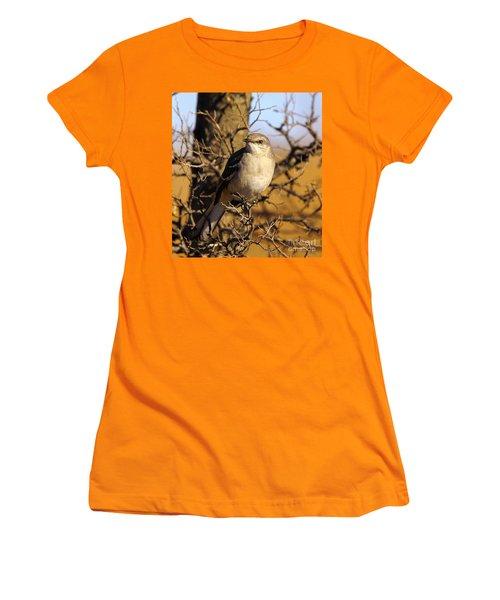 Common Mockingbird Women's T-Shirt (Junior Cut) by Robert Frederick