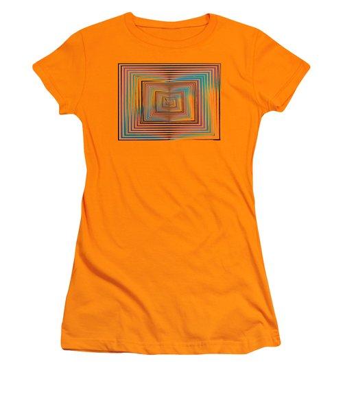 Mesmer Realized Women's T-Shirt (Junior Cut) by Tim Allen