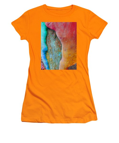 Women's T-Shirt (Junior Cut) featuring the digital art Become by Richard Laeton