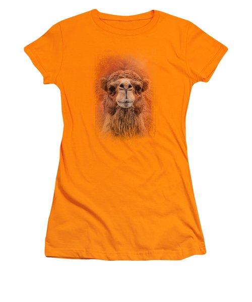 Dromedary Camel Women's T-Shirt (Junior Cut) by Jai Johnson