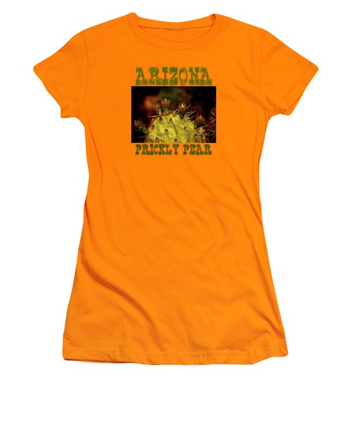 Prickly Pear Spring Women's T-Shirt (Junior Cut) by Roger Passman