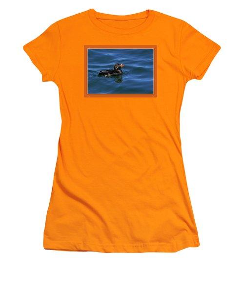 Rhinocerous Women's T-Shirt (Junior Cut) by BYETPhotography