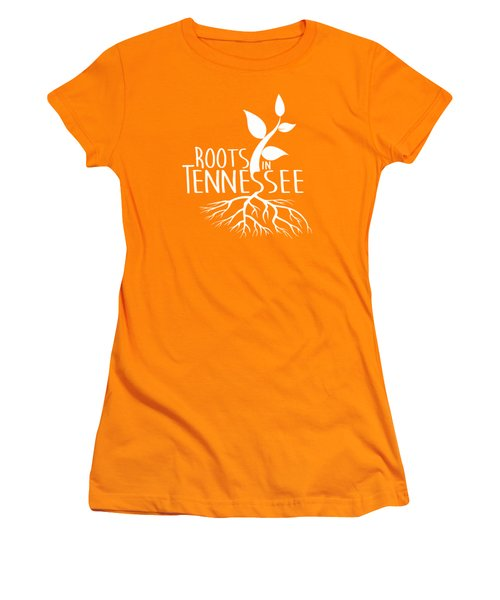Roots In Tennessee Seedlin Women's T-Shirt (Junior Cut) by Heather Applegate