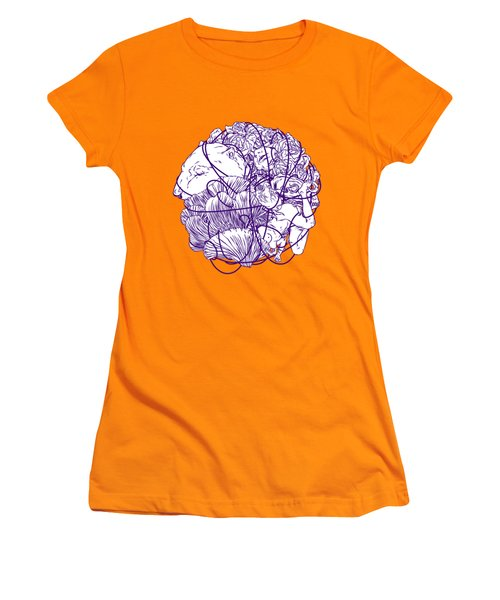 Stuff Women's T-Shirt (Junior Cut) by Evgenia Chuvardina