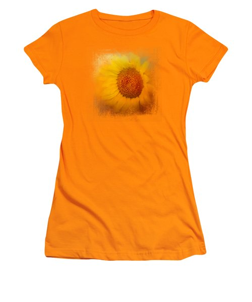 Sunflower Surprise Women's T-Shirt (Junior Cut) by Jai Johnson