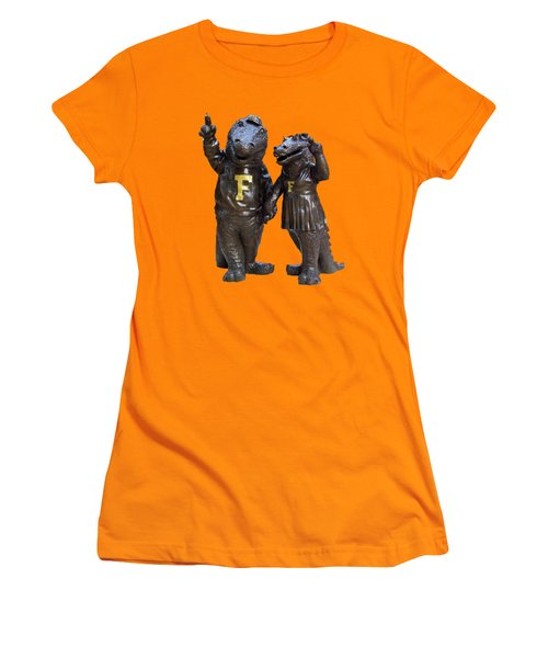 The Gators Transparent For T Shirts Women's T-Shirt (Junior Cut) by D Hackett
