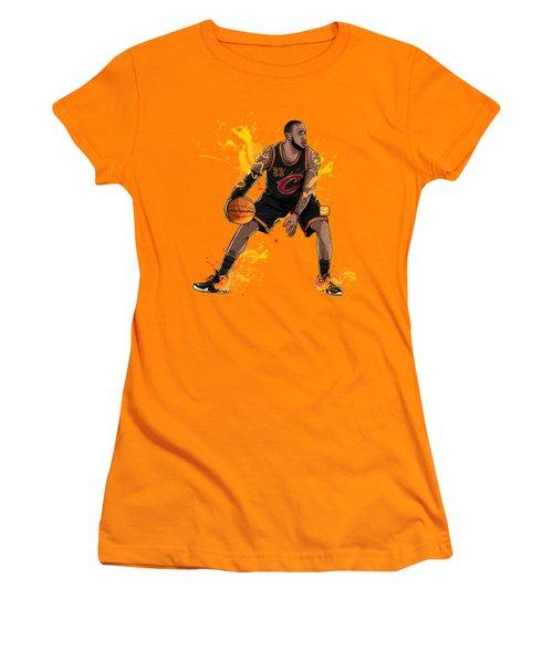 The King James Women's T-Shirt (Junior Cut) by Akyanyme