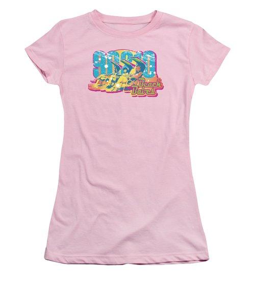 90210 - Beach Babes Women's T-Shirt (Junior Cut) by Brand A