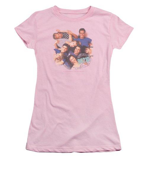 90210 - Gang In Logo Women's T-Shirt (Junior Cut) by Brand A