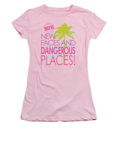 90210 - Tagline Women's T-Shirt (Junior Cut) by Brand A