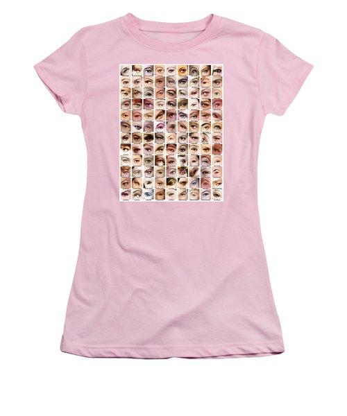 Eyes Of Hollywood - Old Era Women's T-Shirt (Junior Cut) by Taylan Apukovska
