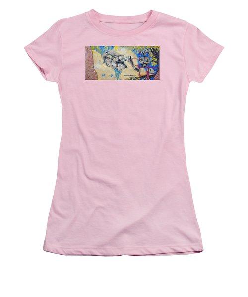 Minotaur Women's T-Shirt (Junior Cut) by Derrick Higgins