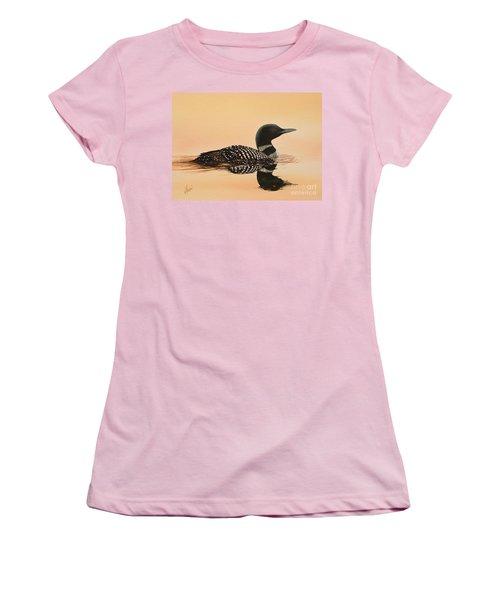 Serene Beauty Women's T-Shirt (Junior Cut) by James Williamson