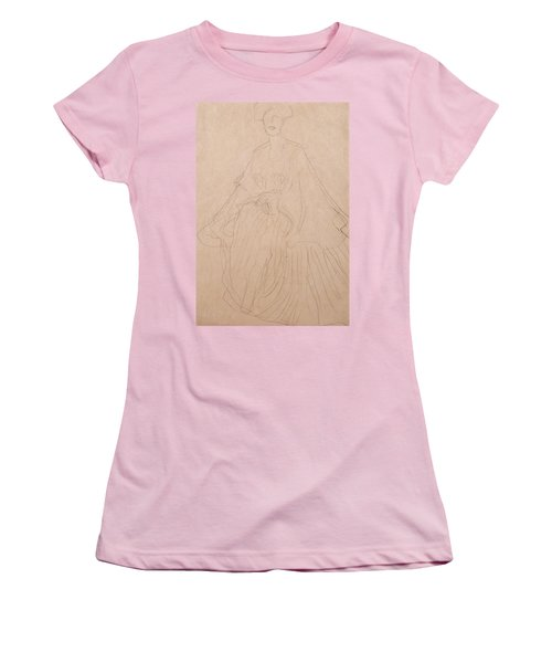 Adele Bloch Bauer Women's T-Shirt (Junior Cut) by Gustav Klimt