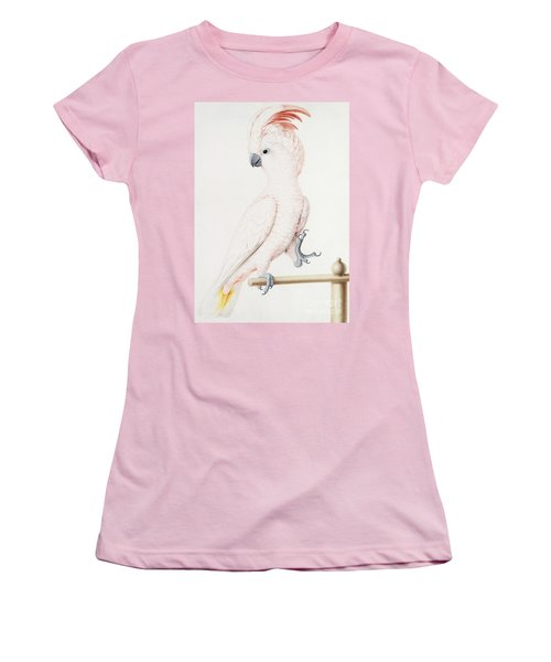 Major Mitchell's Cockatoo Women's T-Shirt (Junior Cut) by Nicolas Robert
