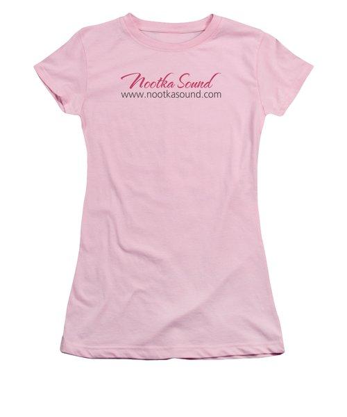 Nootka Sound Logo #13 Women's T-Shirt (Junior Cut) by Nootka Sound