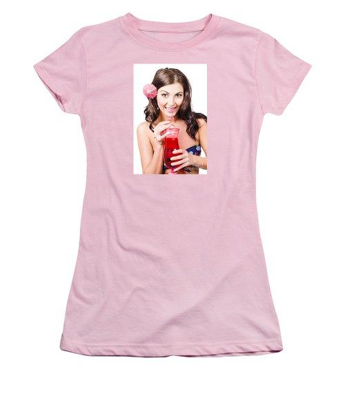 Summer Holidays Women's T-Shirt (Junior Cut) by Jorgo Photography - Wall Art Gallery