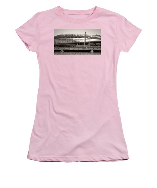 Yankee Stadium    1923  -  2008 Women's T-Shirt (Junior Cut) by Daniel Hagerman