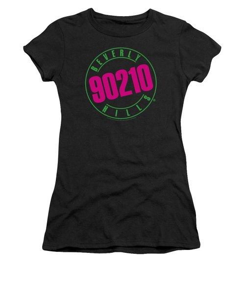 90210 - Neon Women's T-Shirt (Junior Cut) by Brand A